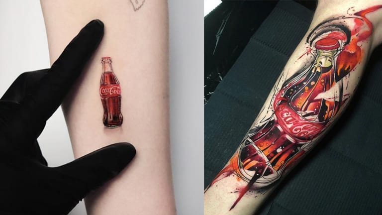 These Coca-Cola Tattoos Sure are Refreshing
