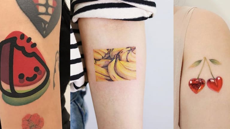 These Fruit Tattoos are Juicy