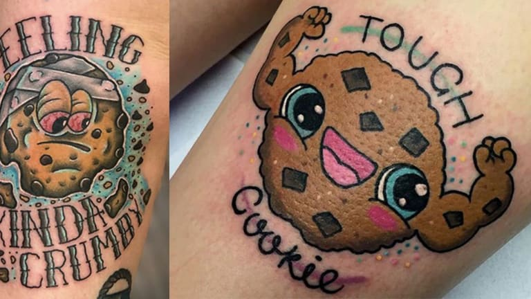 These Cookie Tattoos Look Good Enough to Eat