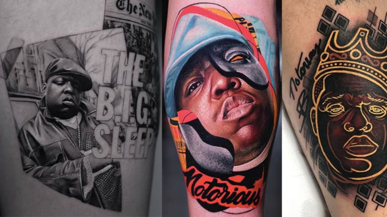 Celebrate Biggie's Birthday with Notorious Tattoos