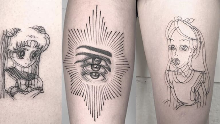 These Tattoos Will Have You Seeing Double
