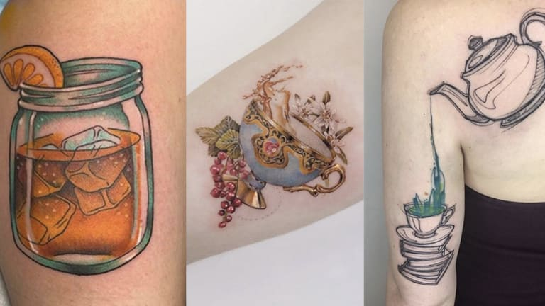 Are These Tattoos Your Cup of Tea?