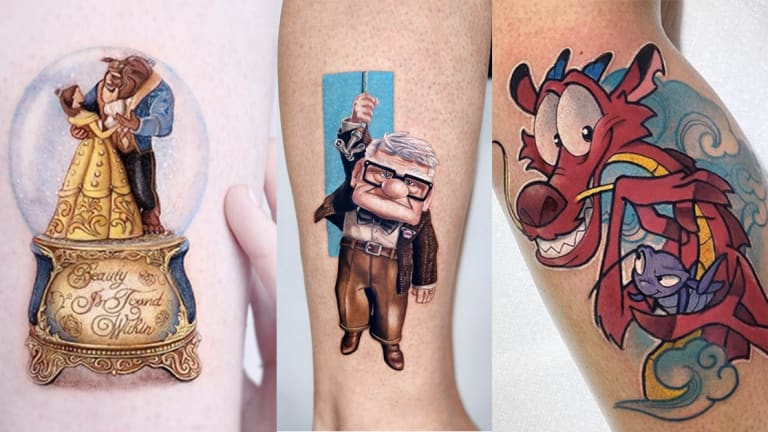 Find Your Magic with These Disney Tattoos