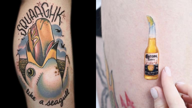 36 Tattoos Celebrating the Best and Worst Parts of Summer