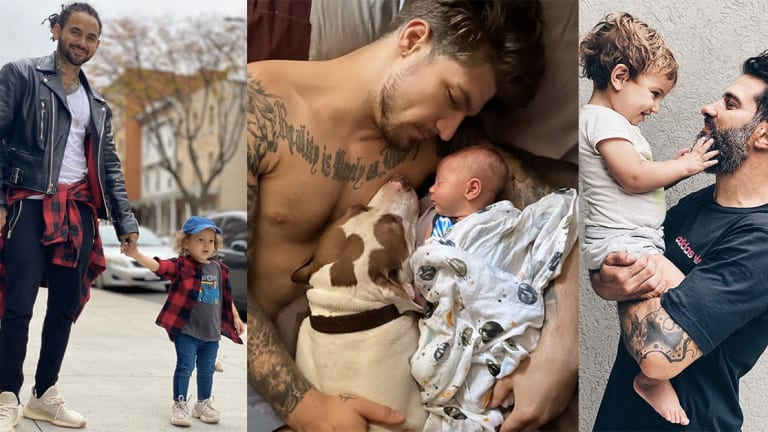 Happy Father's Day to Tattooed Dads