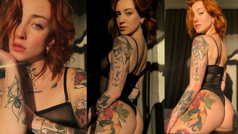 Inked Girl of the Week: Pupilles