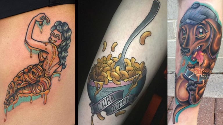Bring Your Mac and Cheese Tattoos to the Cookout