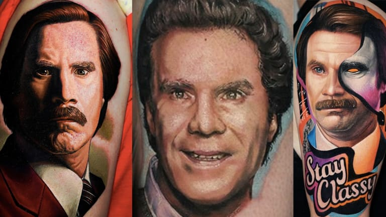 Happy Birthday Will Ferrell, Here are Some Tattoos of Your Face