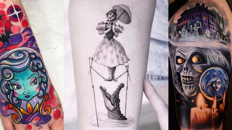 75 Spooky 'The Haunted Mansion' Tattoos