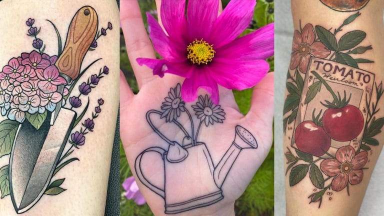 40 Amazing Tattoos For Gardening Lovers