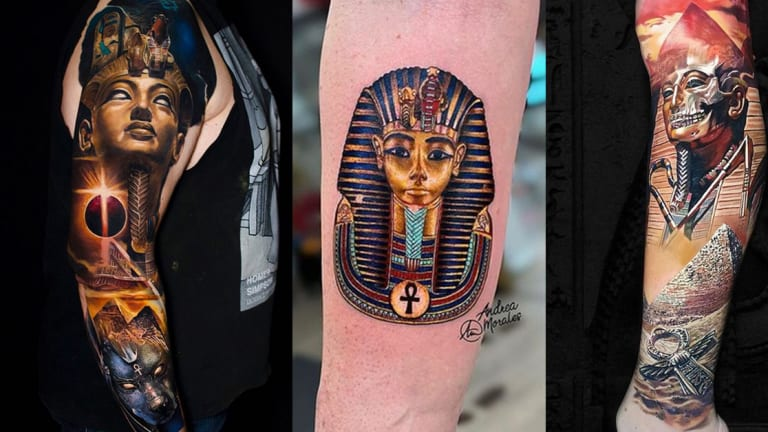 50 Epic Egyptian Inspired Tattoos