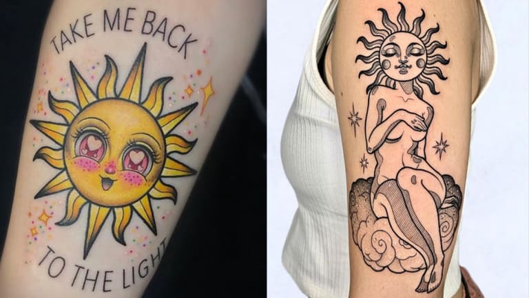 Here Comes the Sun Tattoos