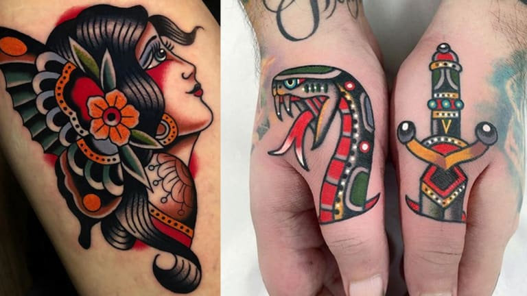 100 American Traditional Tattoos for July 4th