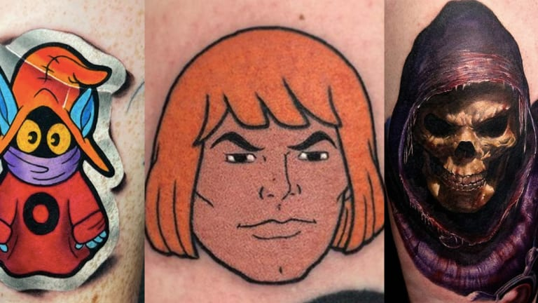 45 Marvelous 'Masters of the Universe' Tattoos