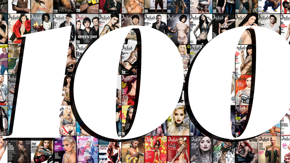 Take a Look Back at 100 Issues of Inked Magazine