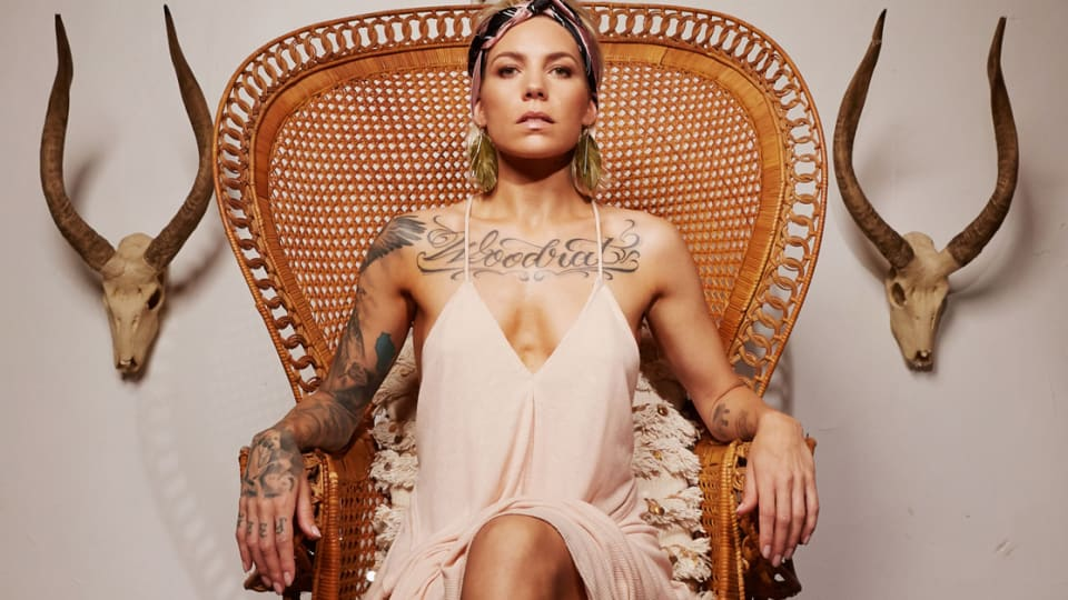 Skylar Grey Shares a Tour of Her Ink, Along with Music Video for Her Newest Album, 'Angel With Tattoos'