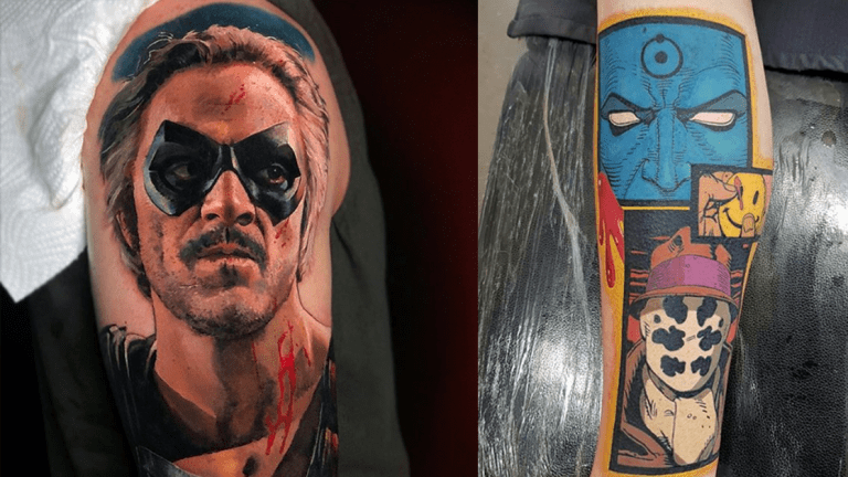 Who Watches These Watchmen Tattoos?