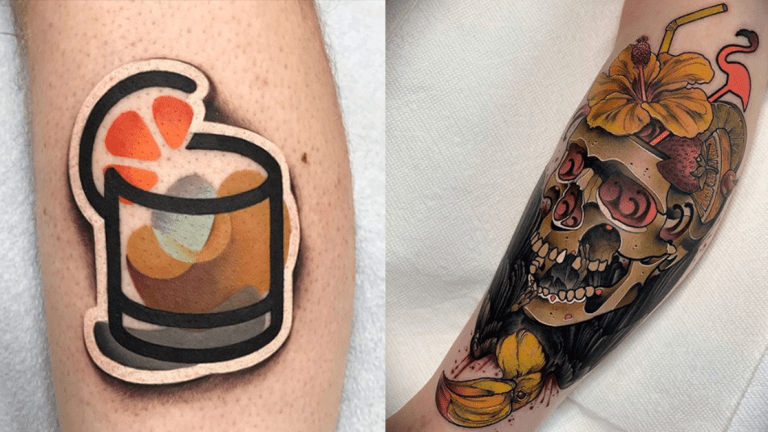 These Tattoos Make Happy Hour Last Forever