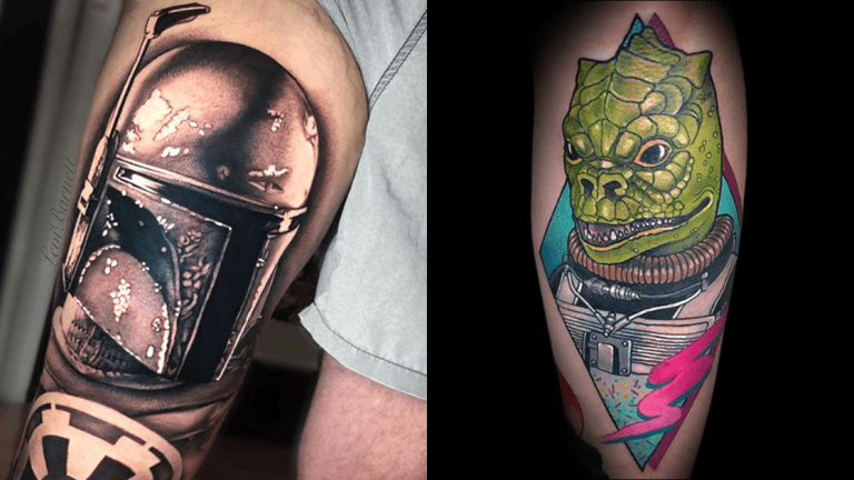 Tattoos of the Bounty Hunters of Star Wars