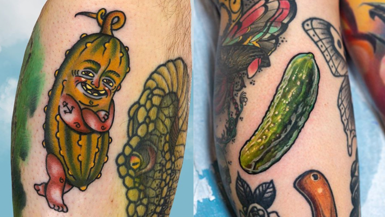 Pickle Tattoos Are Totally a Thing!