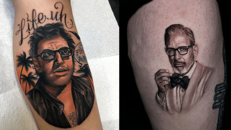 Jeff Goldblum Is on a Hunt to Understand Tattoos
