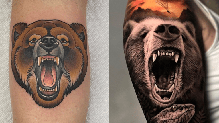 Bear Down and Check Out These Tattoos