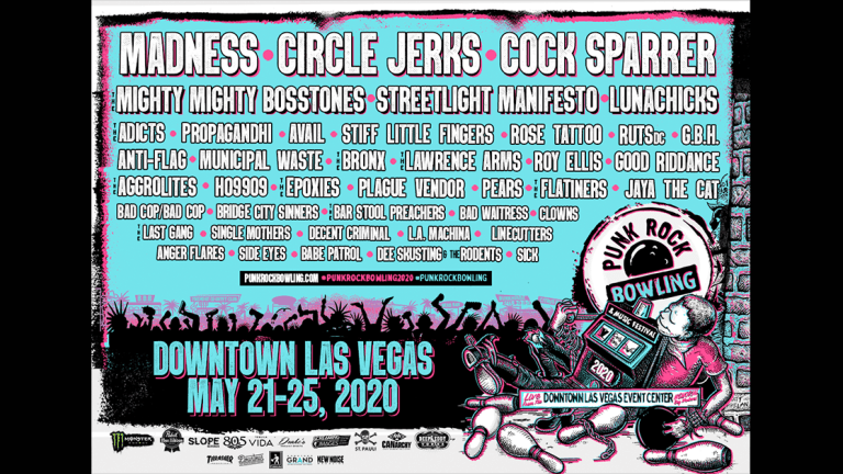 Punk Rock Bowling Releases 2020 Lineup