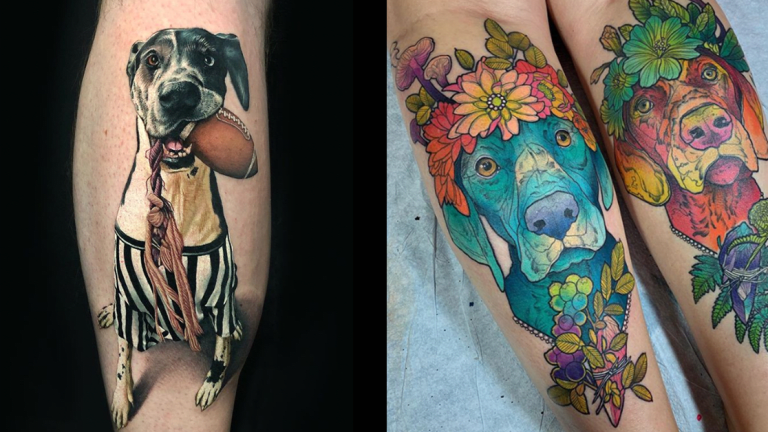 These Dog Tattoos Are Sure to Win Best of Show