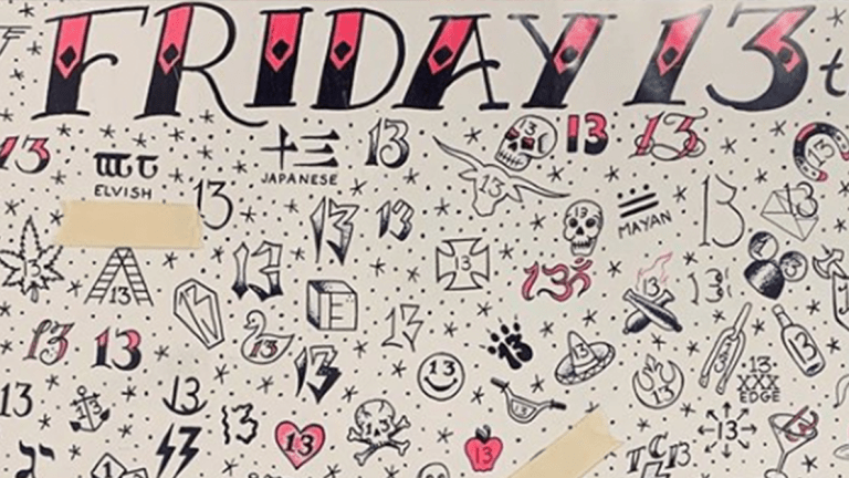 Where to Grab a Friday the 13th Tattoo