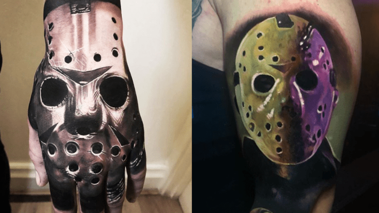 Jason Voorhees Tattoos for Friday the 13th