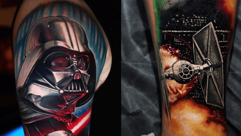 Star Wars Tattoos Celebrating the Empire