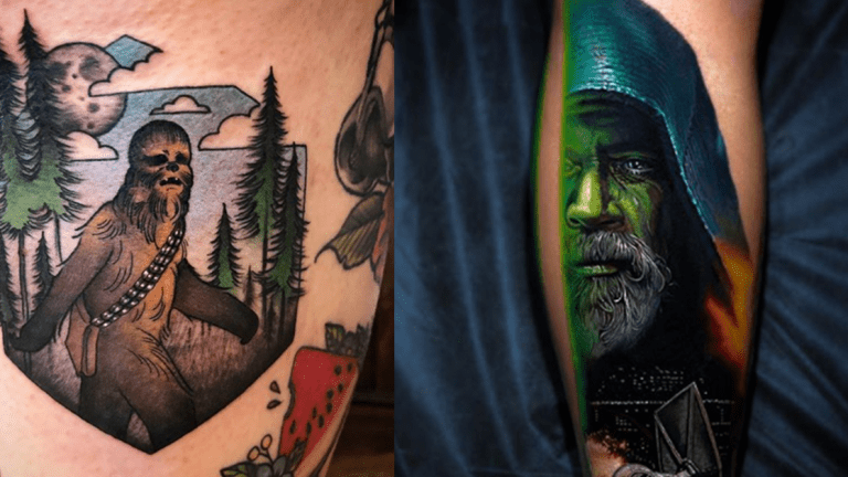 Star Wars Tattoos for the Rebel in Your Life