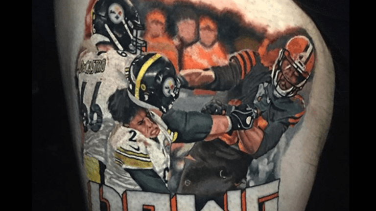 The Tale Behind This Crazy NFL Tattoo