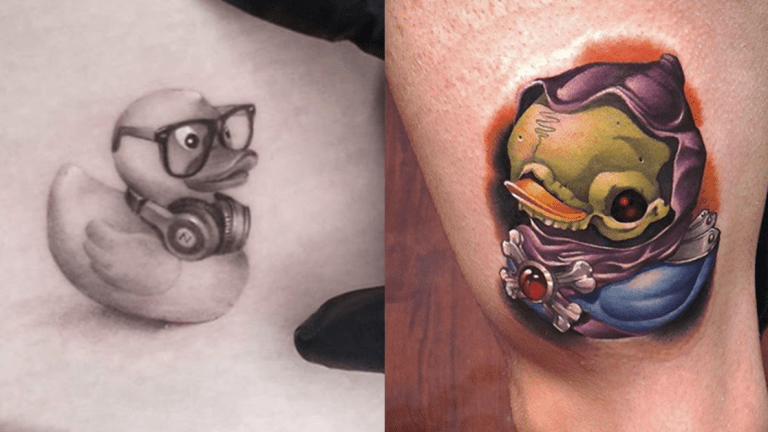 Make a Splash With These Rubber Ducky Tattoos