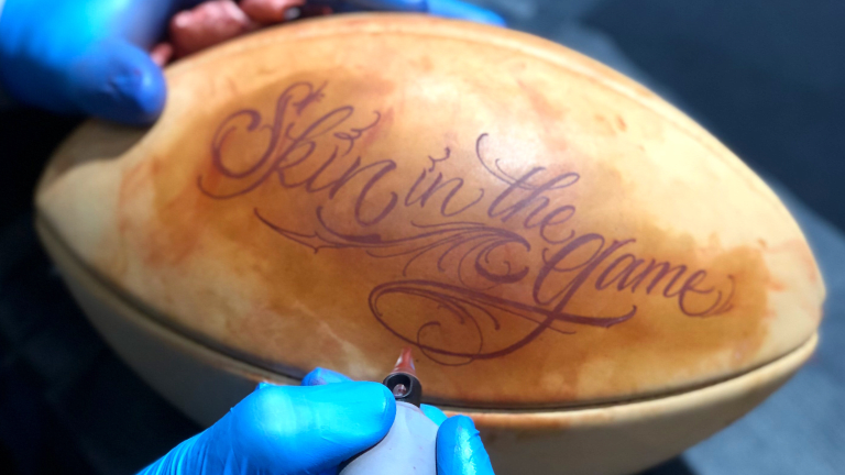 Wilson's 'Skin the Game' Campaign Proves You Can Tattoo Footballs