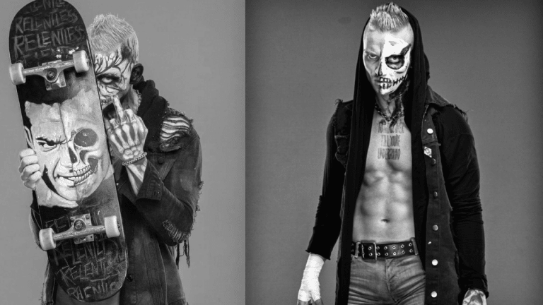 AEW Star Darby Allin Finishes Macabre Sleeve