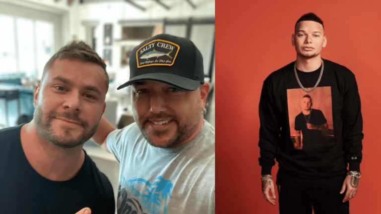 Country Star Jason Aldean Tattoos Kane Brown