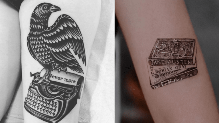 Literary Tattoos for the Bibliophiles