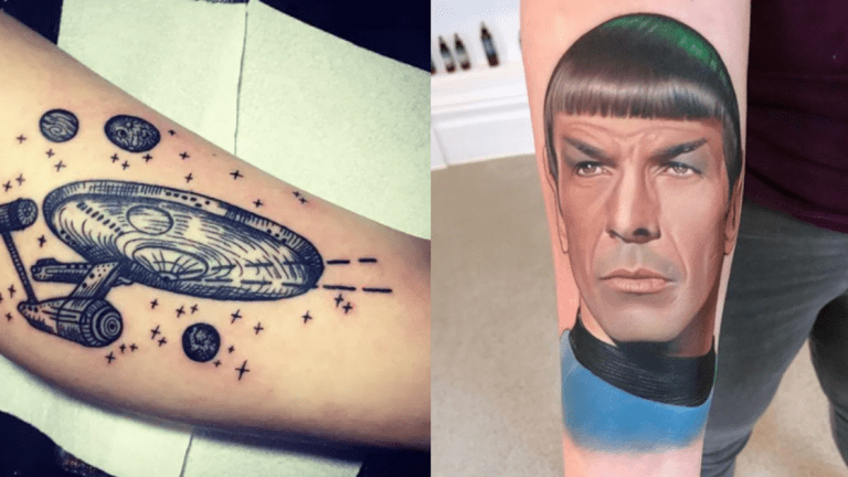 These Star Trek Tattoos Will Live Long and Prosper