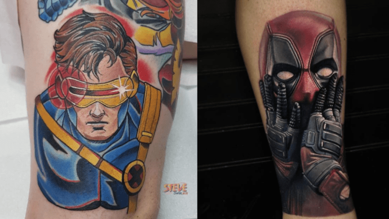X-traordinary X-Men Tattoos for the X-ceptional Comic Series