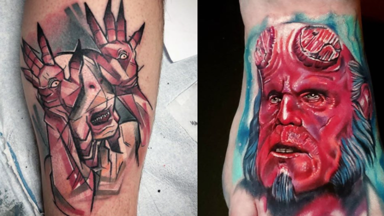 Tattoos Inspired by Guillermo del Toro Films