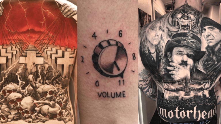 Turn It Up to 11 with These Heavy Metal Tattoos
