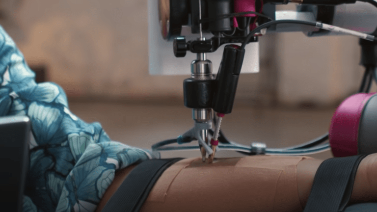Would You Get Tattooed by a Robot?