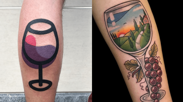 Celebrate National Drink Wine Day With These Wine Tattoos