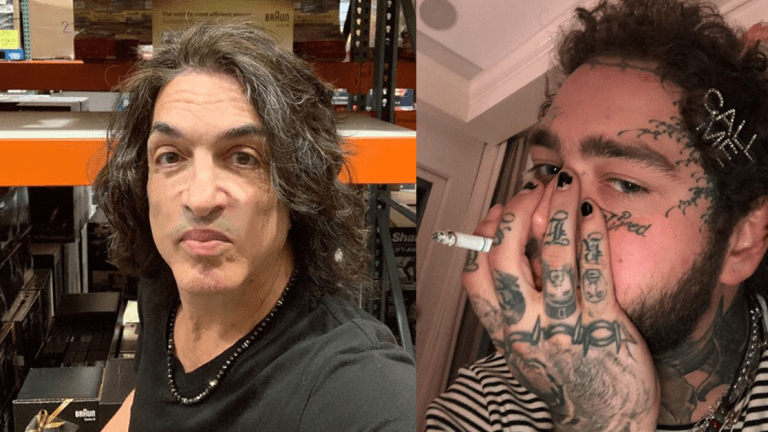Paul Stanley of Kiss Hates Face Tattoos