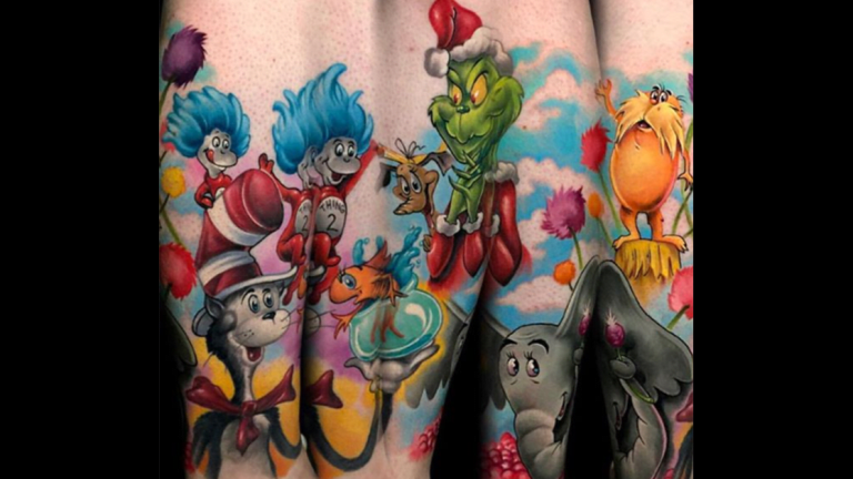 Tattoos for Dr. Seuss's Birthday!