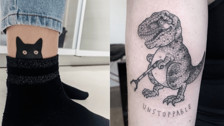 Funny Tattoos to Take Your Mind Off of Everything