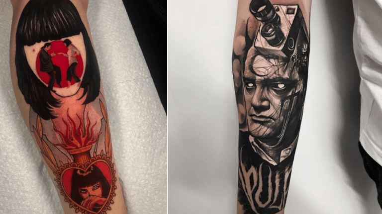 Tattoos from Tarantino Films