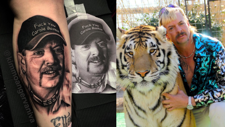 We Have Our First Joe Exotic Tattoo