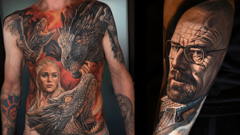 Tattoos From All Your Favorite Binge Watches